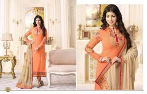 Fiona Aayesha Takiya Vol 21-21601-21606 series With Heavy  Duppata