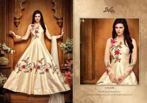 Bela Fashion	Mehzabeen 2489 Colors Silk Anarkali