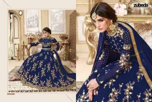Zubeda	Heavy Anarkali Collection Z701-Z704