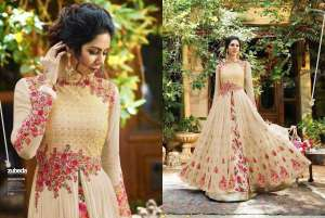 Zubeda Princess 501 Colors Party Wear Suits